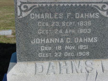DAHMS, CHARLES & JOHANNE - Crawford County, Iowa | CHARLES & JOHANNE DAHMS