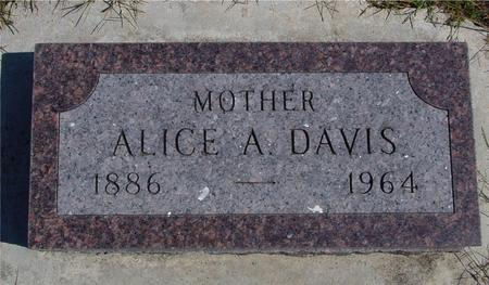 DAVIS, ALICE A. - Crawford County, Iowa | ALICE A. DAVIS