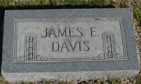 DAVIS, JAMES E. - Crawford County, Iowa | JAMES E. DAVIS