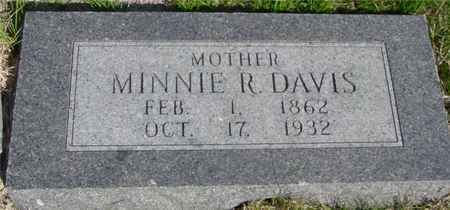 DAVIS, MINNIE R. - Crawford County, Iowa | MINNIE R. DAVIS
