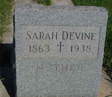 DEVINE, SARAH - Crawford County, Iowa | SARAH DEVINE