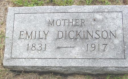 DICKINSON, EMILY - Crawford County, Iowa | EMILY DICKINSON