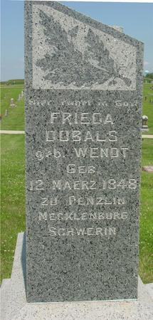 WENDT DOBALS, FRIEDA - Crawford County, Iowa | FRIEDA WENDT DOBALS