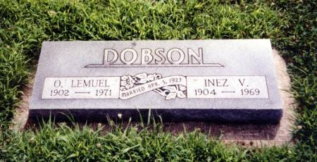 DOBSON, O. LEMUEL AND INEZ V. - Crawford County, Iowa | O. LEMUEL AND INEZ V. DOBSON