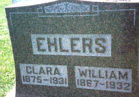 EHLERS, WILLIAM & CLARA - Crawford County, Iowa | WILLIAM & CLARA EHLERS