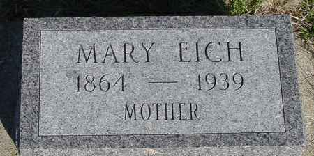 EICH, MARY - Crawford County, Iowa | MARY EICH