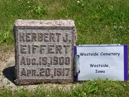 EIFFERT, HERBERT - Crawford County, Iowa | HERBERT EIFFERT