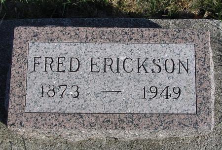 ERICKSON, FRED - Crawford County, Iowa | FRED ERICKSON