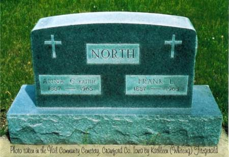 NORTH, FRANK LESLIE & ANNA CATHERINE (DOBLER) - Crawford County, Iowa | FRANK LESLIE & ANNA CATHERINE (DOBLER) NORTH