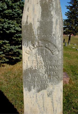 FAHRNOW, CARL - Crawford County, Iowa | CARL FAHRNOW