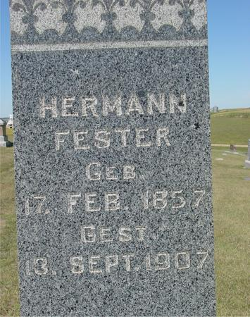 FESTER, HERMAN - Crawford County, Iowa | HERMAN FESTER