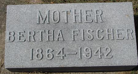 FISCHER, BERTHA - Crawford County, Iowa | BERTHA FISCHER