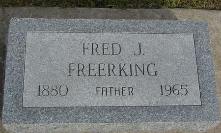 FREERKING, FRED J. - Crawford County, Iowa | FRED J. FREERKING