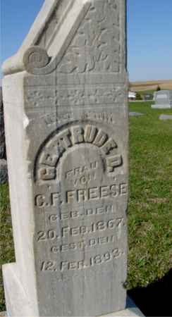 FREESE, GERTRUDE D. - Crawford County, Iowa | GERTRUDE D. FREESE
