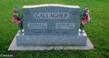 PETERSEN GALLAGHER, LUCILLE - Crawford County, Iowa | LUCILLE PETERSEN GALLAGHER