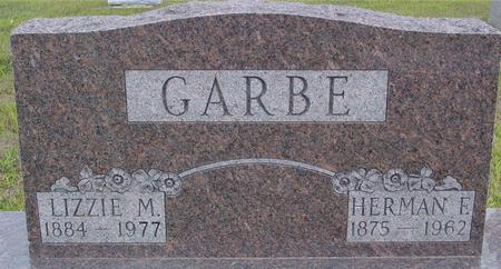 GARBE, HERMAN F. & LIZZIE - Crawford County, Iowa | HERMAN F. & LIZZIE GARBE