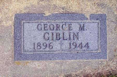 GIBLIN, GEORGE M. - Crawford County, Iowa | GEORGE M. GIBLIN