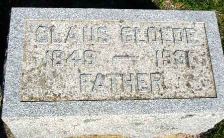 GLOEDE, CLAUS - Crawford County, Iowa | CLAUS GLOEDE