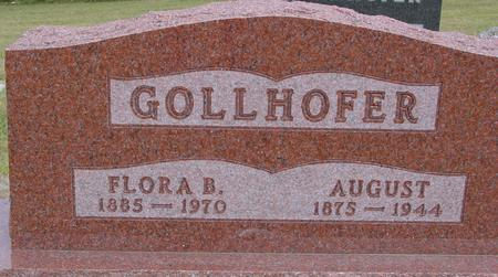 GOLLHOFER, AUGUST & FLORA - Crawford County, Iowa | AUGUST & FLORA GOLLHOFER