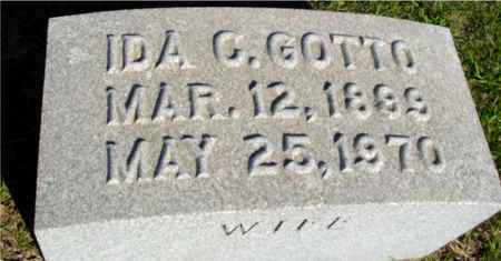 GOTTO, IDA C. - Crawford County, Iowa | IDA C. GOTTO
