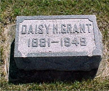 HODKIN GRANT, DAISY - Crawford County, Iowa | DAISY HODKIN GRANT