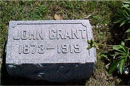 GRANT, JOHN - Crawford County, Iowa | JOHN GRANT