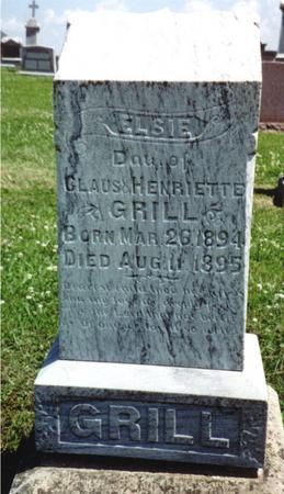 GRILL, ELSIE - Crawford County, Iowa | ELSIE GRILL