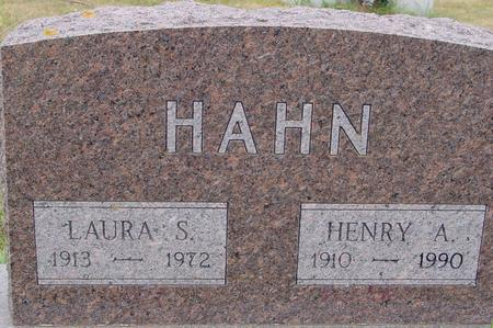 HAHN, HENRY A. & LAURA - Crawford County, Iowa | HENRY A. & LAURA HAHN