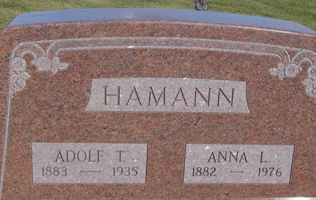 HAMANN, ADOLF & ANNA - Crawford County, Iowa | ADOLF & ANNA HAMANN