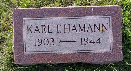 HAMANN, KARL T. - Crawford County, Iowa | KARL T. HAMANN