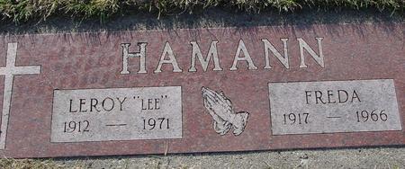 HAMANN, LEROY & FREDA - Crawford County, Iowa | LEROY & FREDA HAMANN