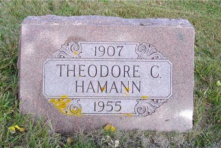 HAMANN, THEODORE C. - Crawford County, Iowa | THEODORE C. HAMANN