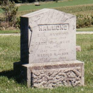 HAMMOND, E. L. - Crawford County, Iowa | E. L. HAMMOND