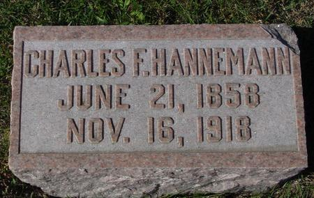 HANNEMAN, CHARLES F. - Crawford County, Iowa | CHARLES F. HANNEMAN