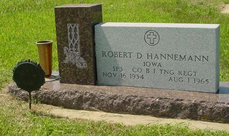 HANNEMANN, ROBERT D. - Crawford County, Iowa | ROBERT D. HANNEMANN