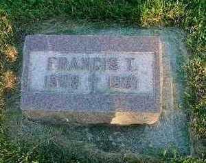 HANRAHAN, FRANCIS T. - Crawford County, Iowa | FRANCIS T. HANRAHAN