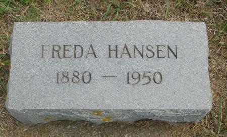 HANSEN, FREDA - Crawford County, Iowa | FREDA HANSEN
