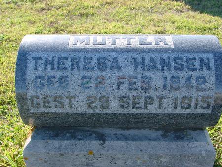 HANSEN, THERESA - Crawford County, Iowa   THERESA HANSEN