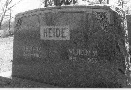 HEIDE, ALBERT - Crawford County, Iowa | ALBERT HEIDE