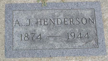 HENDERSON, A. J. - Crawford County, Iowa | A. J. HENDERSON
