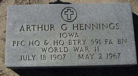 HENNINGS, ARTHUR - Crawford County, Iowa | ARTHUR HENNINGS