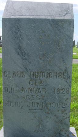 HINRICHSEN, CLAUS - Crawford County, Iowa | CLAUS HINRICHSEN
