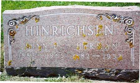HINRICHSEN, HERMAN & MINNIE - Crawford County, Iowa | HERMAN & MINNIE HINRICHSEN