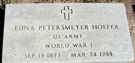 PETERSMEYER HOEFER, EDNA - Crawford County, Iowa | EDNA PETERSMEYER HOEFER