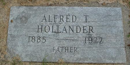 HOLLANDER, ALFRED T. - Crawford County, Iowa | ALFRED T. HOLLANDER