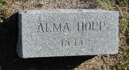 HOPP, ALMA - Crawford County, Iowa | ALMA HOPP