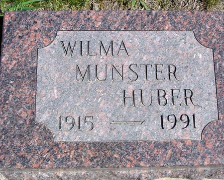 MUNSTER HUBER, WILMA - Crawford County, Iowa | WILMA MUNSTER HUBER
