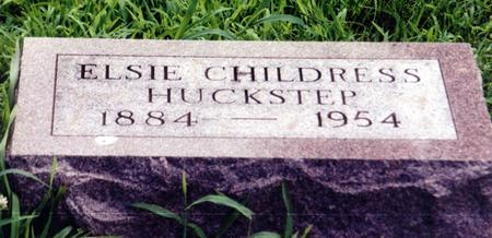 CHILDRESS HUCKSTEP, ELSIE - Crawford County, Iowa | ELSIE CHILDRESS HUCKSTEP