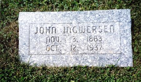INGWERSEN, JOHN - Crawford County, Iowa | JOHN INGWERSEN