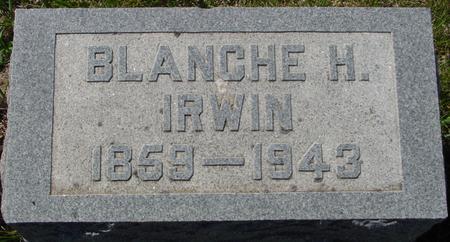 IRWIN, BLANCHE H. - Crawford County, Iowa | BLANCHE H. IRWIN